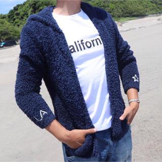 ロンハーマン(Ron Herman)の先取りコーデ☆LUSSO SURF 刺繍ボアパーカー Mサイズ☆ベアフット(パーカー)