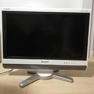 アクオス(AQUOS)の20インチ AQUOS液晶テレビ(テレビ)