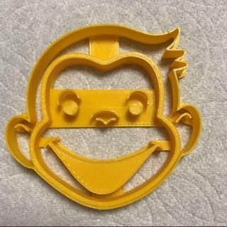 おさるのジョージ クッキーの型 (調理道具/製菓道具)