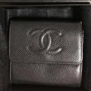 シャネル(CHANEL)のCHANEL 革財布(折り財布)