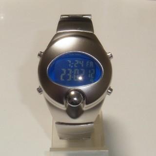 アルバ(ALBA)のALBA SPOON INGOT ブルー(腕時計(デジタル))