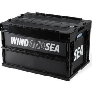 シー(SEA)のSEA CONTAINER BOX FULLBLACK 20S2-GD-06(その他)