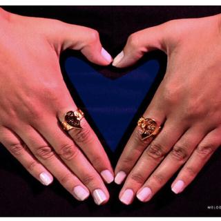 ユニフ(UNIF)のメロディエサニ  2セット♡リング(リング(指輪))