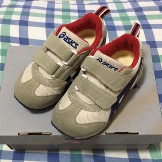 アディダス(adidas)のアシックス くつ 16 美品(靴下/タイツ)