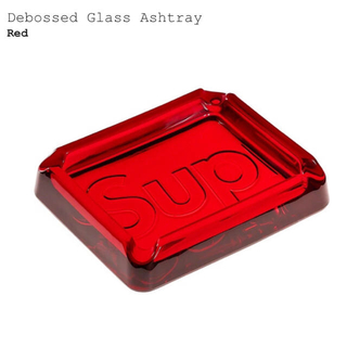 シュプリーム(Supreme)のSupreme Debossed Glass Ashtray(灰皿)