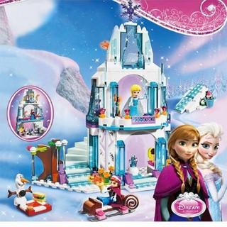 アナと雪の女王 - レゴ互換ブロック アナと雪の女王 氷のお城