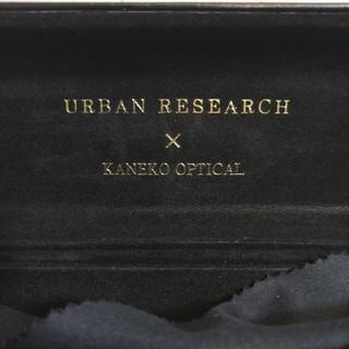 アーバンリサーチ(URBAN RESEARCH)のアーバンリサーチ×金子眼鏡 伊達メガネ 度なし(サングラス/メガネ)