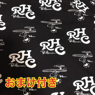 ロンハーマン(Ron Herman)のスヌーピー  生地 布タグ サーフ(各種パーツ)