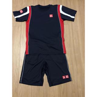 ユニクロ(UNIQLO)のユニクロ UNIQLO テニス 錦織 ジョコビッチ フェデラー シャツ パンツ(ウェア)