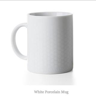 ルイヴィトン(LOUIS VUITTON)の【専用】LOUIS VUITTON マグカップ ホワイト 2個セット(グラス/カップ)