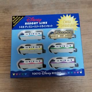 Disney - ディズニーリゾートライン 6両セット 金ピカトミカ入り