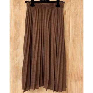 ドレスキップ(DRESKIP)のドレスキップ チェック ロング プリーツ スカート (ロングスカート)