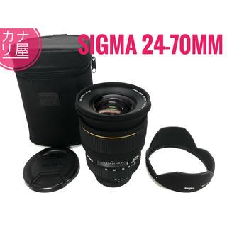 ニコン(Nikon)の✨美品✨ SIGMA 24-70mm f/2.8 EX DG NIKON(レンズ(ズーム))