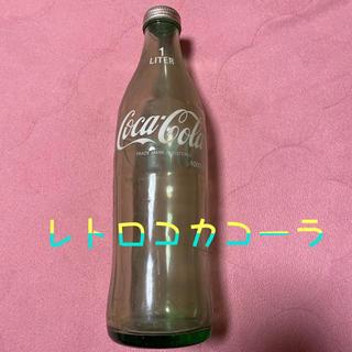 コカコーラ(コカ・コーラ)のレトロなコカコーラ瓶と最新のコカコーラ缶京都編(その他)