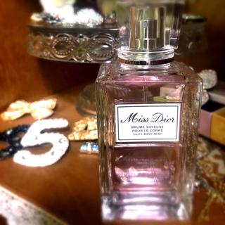 ディオール(Dior)のミスディオール シルキーボディミスト100ml(その他)