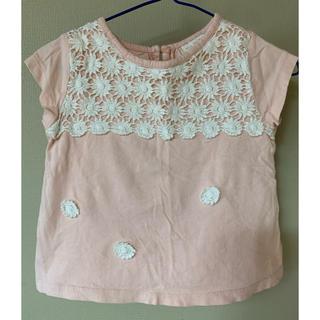 ザラキッズ(ZARA KIDS)の綿100% ZARA baby ザラベビー ピンクTシャツ(Tシャツ)