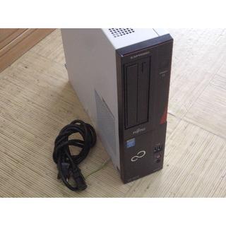 フジツウ(富士通)のFUJITSU ESPRIMO D583/H  Core i5&SSD (デスクトップ型PC)