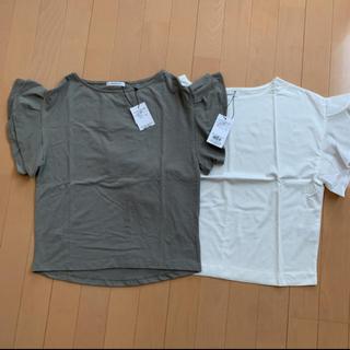 オペークドットクリップ(OPAQUE.CLIP)の新品 オペークドットクリップ シャツ 2枚(Tシャツ(半袖/袖なし))