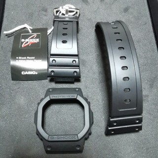 ジーショック(G-SHOCK)の新品外し g-shock dw-5600 純正マットブラック ベルト ベゼル(腕時計(デジタル))