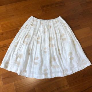 ミナペルホネン(mina perhonen)のmya's shop様専用 ミナペルホネン  スカート plover(ひざ丈スカート)