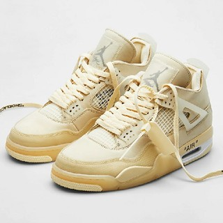 オフホワイト(OFF-WHITE)のOff-White x Air Jordan 4 Retro SP WMNS (スニーカー)