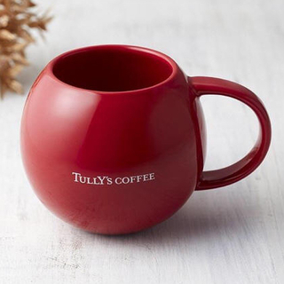 タリーズコーヒー(TULLY'S COFFEE)の【新品未使用】 タリーズ スフェリカルマグ(グラス/カップ)