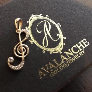 アヴァランチ(AVALANCHE)のAVALANCHE 10k イエローゴールド ペンダントヘッド 入手困難(ネックレス)