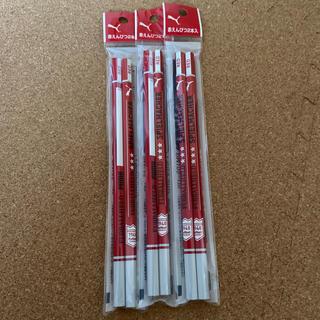 プーマ(PUMA)のプーマ 赤鉛筆2本入り✖️③袋(鉛筆)