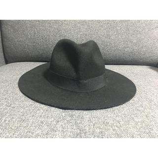 moussy - moussyハット 帽子 black 黒