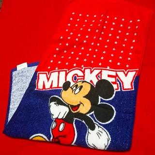 ミッキーマウス(ミッキーマウス)のミッキーマウス*フェイスタオル(タオル/バス用品)
