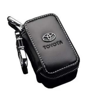 トヨタ(トヨタ)のトヨタ スマートキーケース TOYOTA レザーキーケース PUレザー(キーケース)