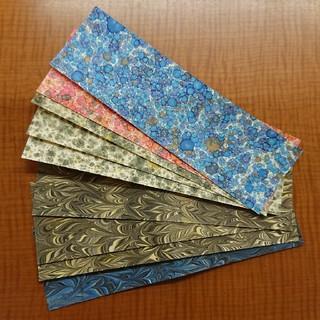 イルパピロ マーブル紙 メッセージカード 9枚 (カード/レター/ラッピング)