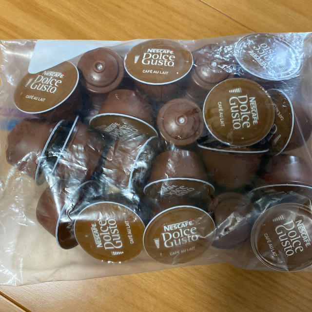 Nestle(ネスレ)のネスカフェ ドルチェグスト☆カフェオレ25杯分 食品/飲料/酒の飲料(コーヒー)の商品写真