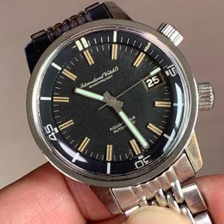 インターナショナルウォッチカンパニー(IWC)の初代アクアタイマー★IWC 812AD フリップロック型ゲイフレアーブレス(腕時計(アナログ))