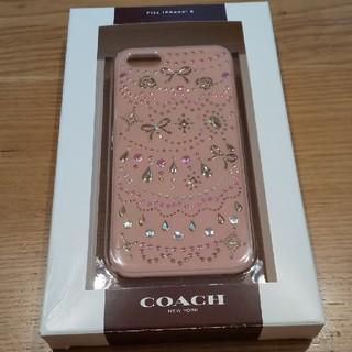 コーチ(COACH)のCOACH スマホケース iphone5 新品未使用(iPhoneケース)