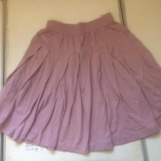 綿100%ミニフレアスカート(ミニスカート)