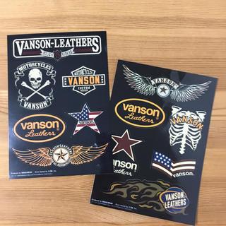 バンソン(VANSON)のVANSON バンソン ステッカー 2枚組 (非売品)(ステッカー)