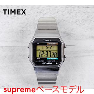 タイメックス(TIMEX)の【supremeベースモデル】TIMEX クラシック デジタル オリジナル(腕時計(デジタル))
