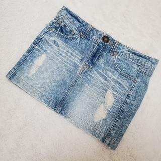 ブルームーンブルー(BLUE MOON BLUE)のBLUE MOON BLUE レディース デニムスカート(ミニスカート)