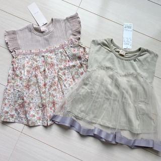 プティマイン(petit main)のプティマイン 110 トップス 2枚(Tシャツ/カットソー)