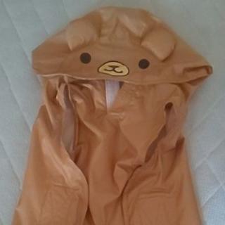 サンリオ(サンリオ)のリラクマ犬用 レインコートsize4 マジックテープなので洋服3L~4Lの子に (犬)