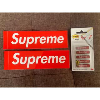 シュプリーム(Supreme)のSupreme|Post-it ポストイット(ステッカー2枚のおまけ付き)(ノート/メモ帳/ふせん)