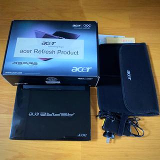 エイサー(Acer)のACER Aspire one 533 Windows7 10にアップ可能(ノートPC)