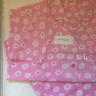 大きいサイズ  綿100%半袖パジャマ(パジャマ)