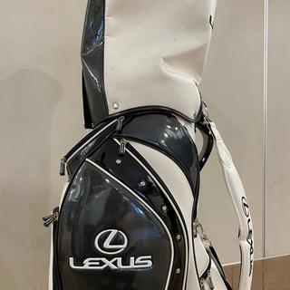 LEXUS ゴルフバック ネームプレート付(バッグ)