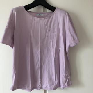 サニーレーベル(Sonny Label)のアーバンリサーチサニーレーベル Tシャツ カットソー パープル (Tシャツ(半袖/袖なし))