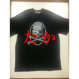 マスターマインドジャパン(mastermind JAPAN)の【新品】BAPE VS Mastermind JAPAN TEE 黒S(Tシャツ/カットソー(半袖/袖なし))