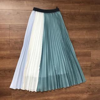 AuieF - AuieF ロングスカート プリーツスカート