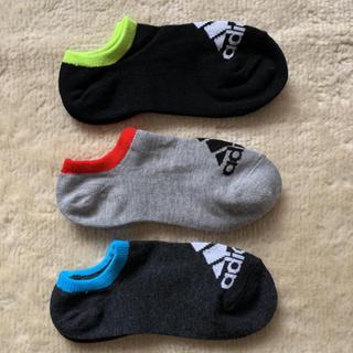 アディダス(adidas)のアディダス 靴下 ソックス 21〜23㎝(靴下/タイツ)