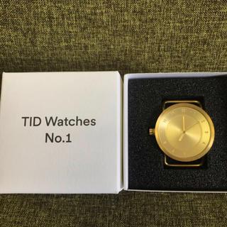ビームス(BEAMS)のTID Watches ティッドウォッチズ No.1 40mm 人気色バンド2種(腕時計(アナログ))